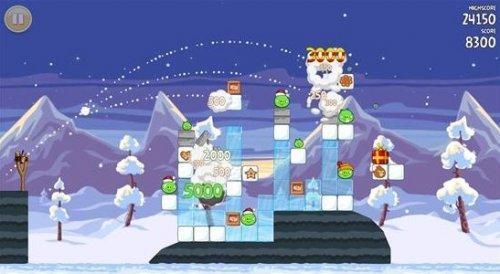 图 10 愤怒的小鸟基于物理学的设计,可以让玩家通过对物理的认知快速建立游戏目标